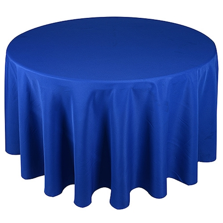Royal Blue 120 Inch Round Tablecloths