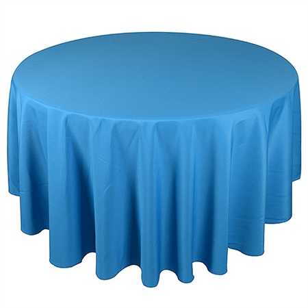 Turquoise 120 Inch Round Tablecloths