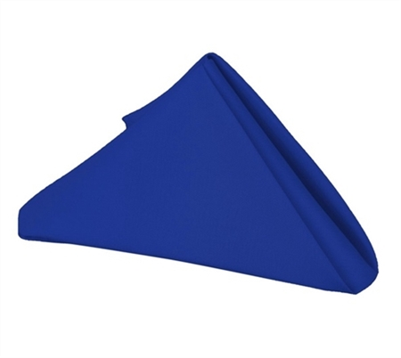 Royal Blue 20 x 20 Polyester Napkins