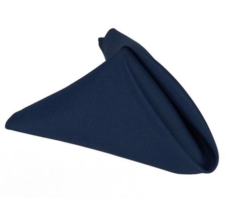 Navy Blue 20 x 20 Polyester Napkins