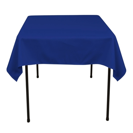Royal Blue 52 x 52 Inch Square Tablecloths