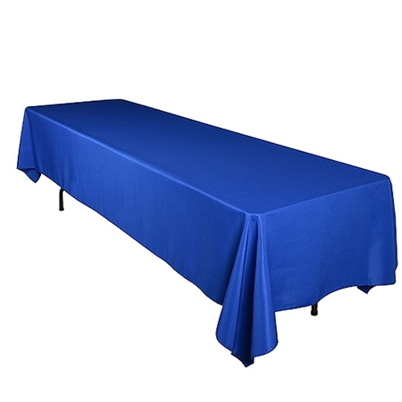 Royal Blue 60 x 102 Inch Rectangle Tablecloths