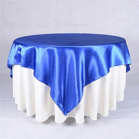 Royal Blue 60 x 60 Inch Square Overlays