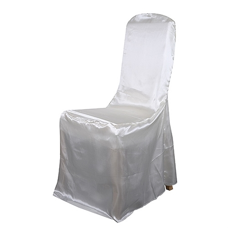 Banquet Chair Cover Satin Chair Cover Ivory