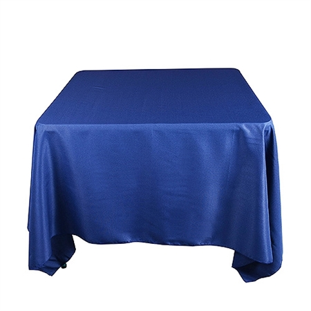 Navy Blue 85 x 85 Inch Square Tablecloths
