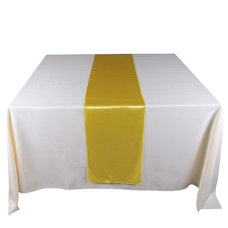 Daffodil Satin Table Runner